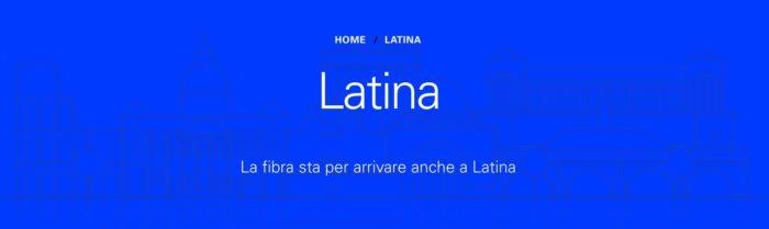 open fiber a latina