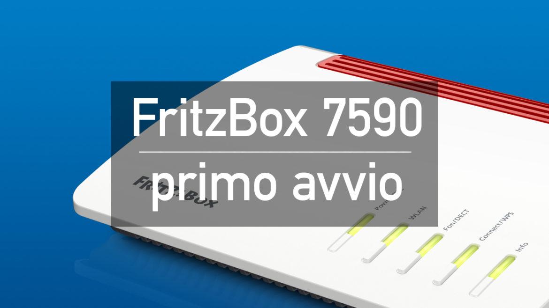 7520 primo avvio