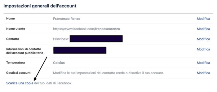 dossier facebook