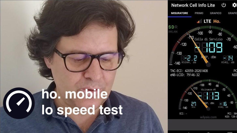 ho mobile speedtest