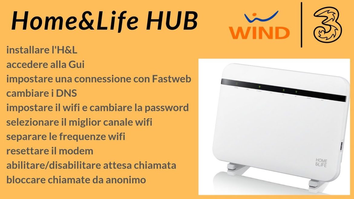 Home&Life Hub Wind Tre