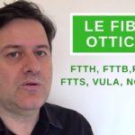 le fibre ottiche