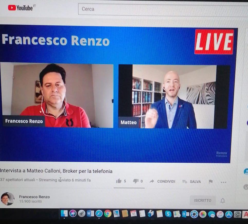 intervista a Matteo Calloni