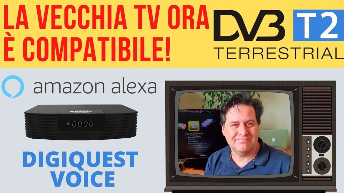 digiquest voice dvb t2 digitale terrestre
