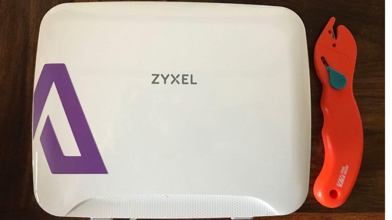 Zyxel 3316 LTE modem Alpsim