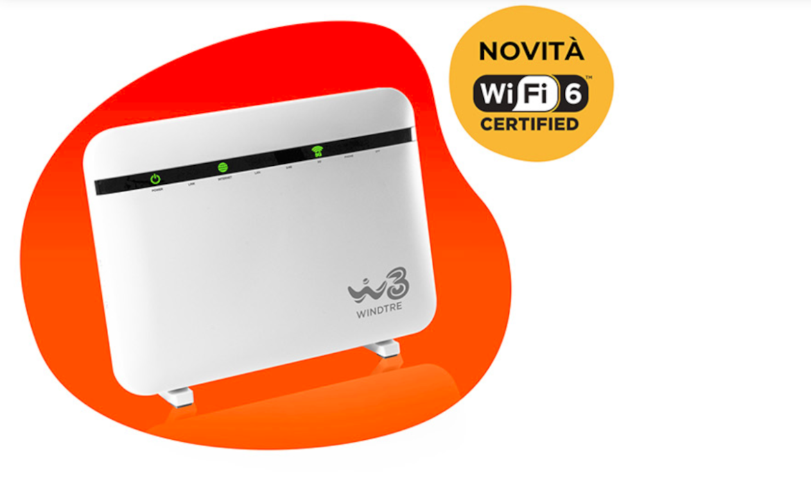 nuovo router windtre wifi 6
