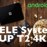 TELE System UP T2 dvbt2 4K con Android TV