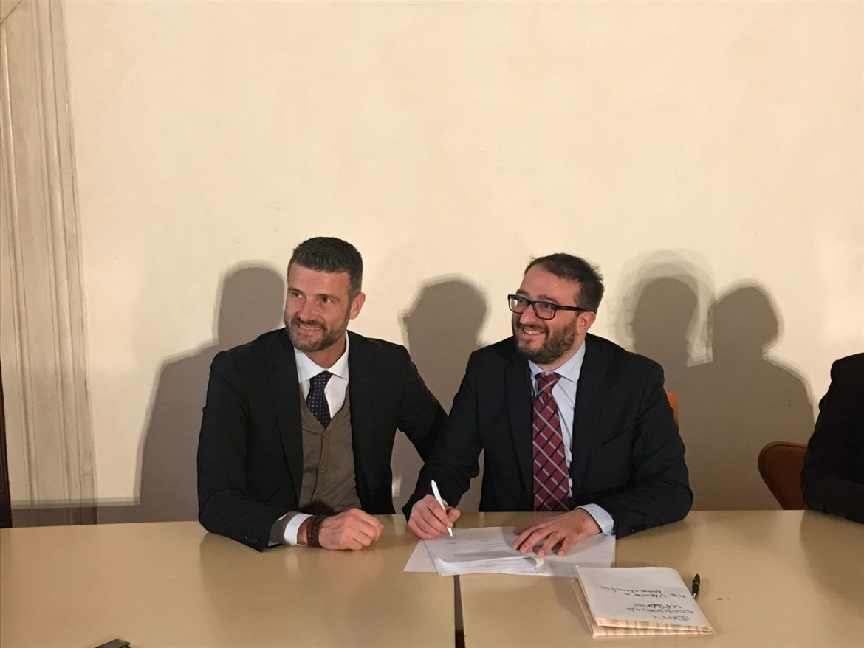 firma convenzione L'Aquila