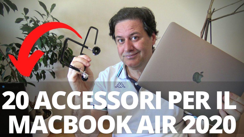 20 accessori per il Macbook Air 2020