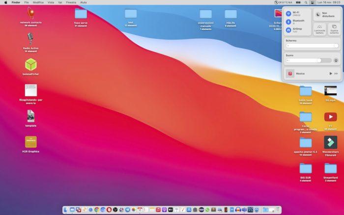 desktop big sur