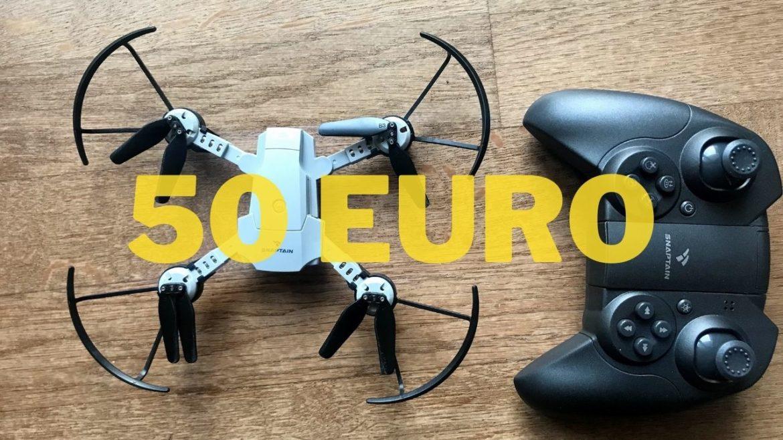 snaptain 10 drone economico