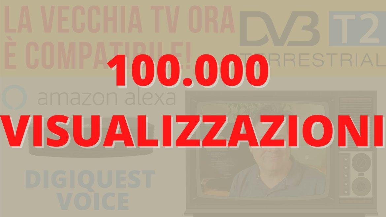 Digiquest voice DVB T2 Alexa smart TV