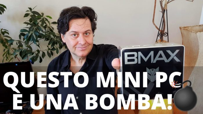 BMAX Mini Pc B2Plus 8 GB+128 GB+SSD Intel Celeron J4115