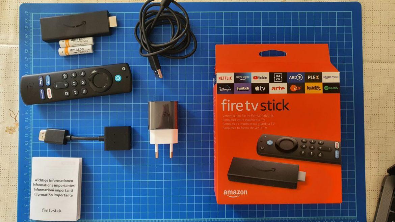 Fire Tv Stick 2021 contenuto