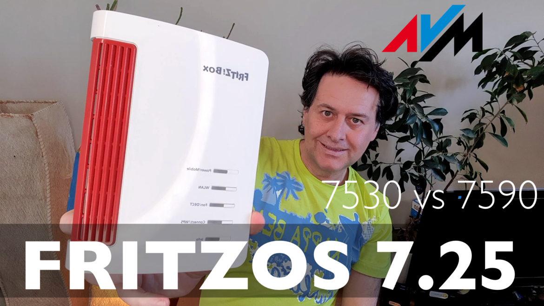 Fritzbox 7530 vs 7590 e update a FritzOS 7.25