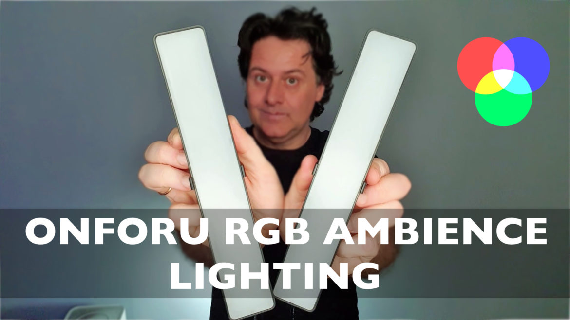 ONFORU RGB AMBIENCE LIGHTING